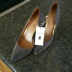 Blue/Gray Merona Pumps